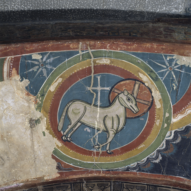 Mestre de Santa Maria de Taüll - Arc de l'Ofrena d'Abel de Santa Maria de Taüll - Cap a 1123 [1]