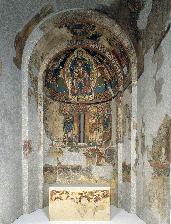 Mestre de Santa Maria de Taüll - Absis de Santa Maria de Taüll - Cap a 1123