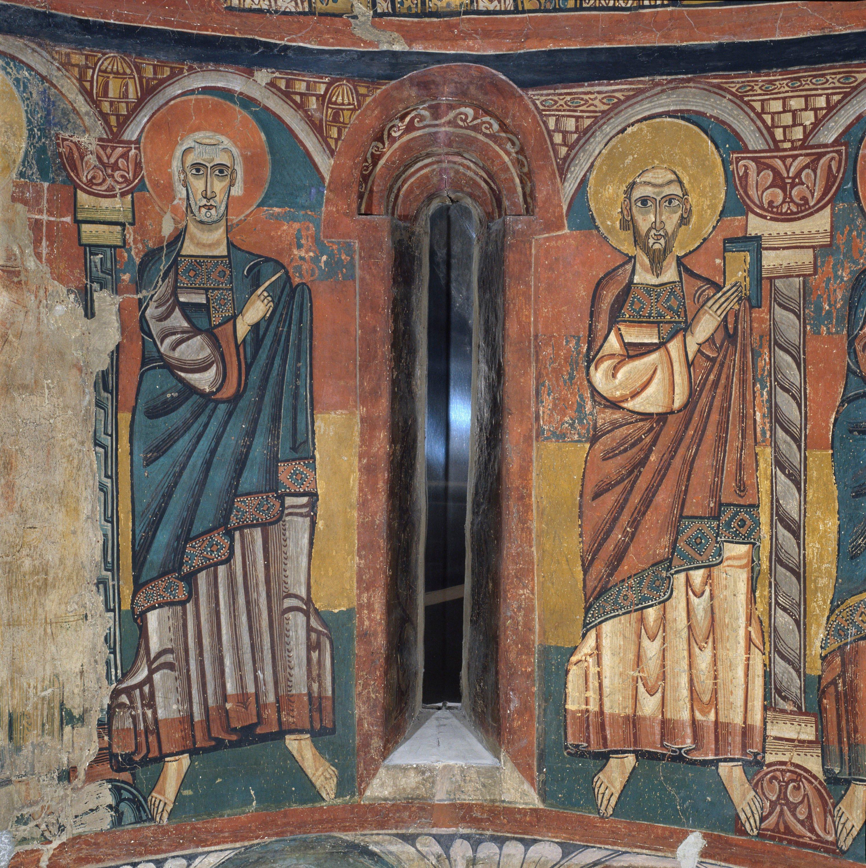 Mestre de Santa Maria de Taüll - Absis de Santa Maria de Taüll - Cap a 1123 [4]