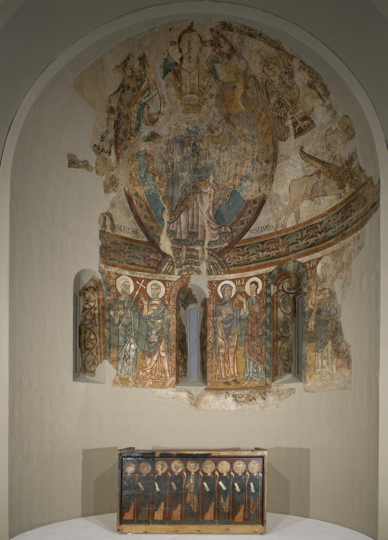 Mestre de la Seu d'Urgell - Absis de Sant Pere de la Seu d'Urgell - Segon quart del segle XII [1]