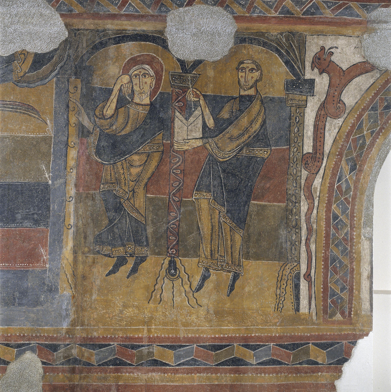 Mestre del Judici Final - Escenes bíbliques de Santa Maria de Taüll - Després de 1123 [9]