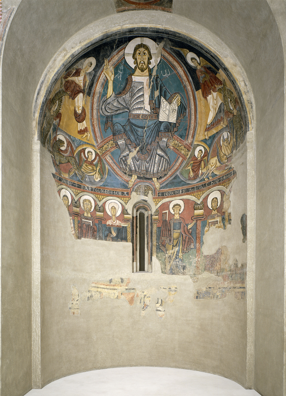 Mestre de Taüll - Absis de Sant Climent de Taüll - Cap a 1123