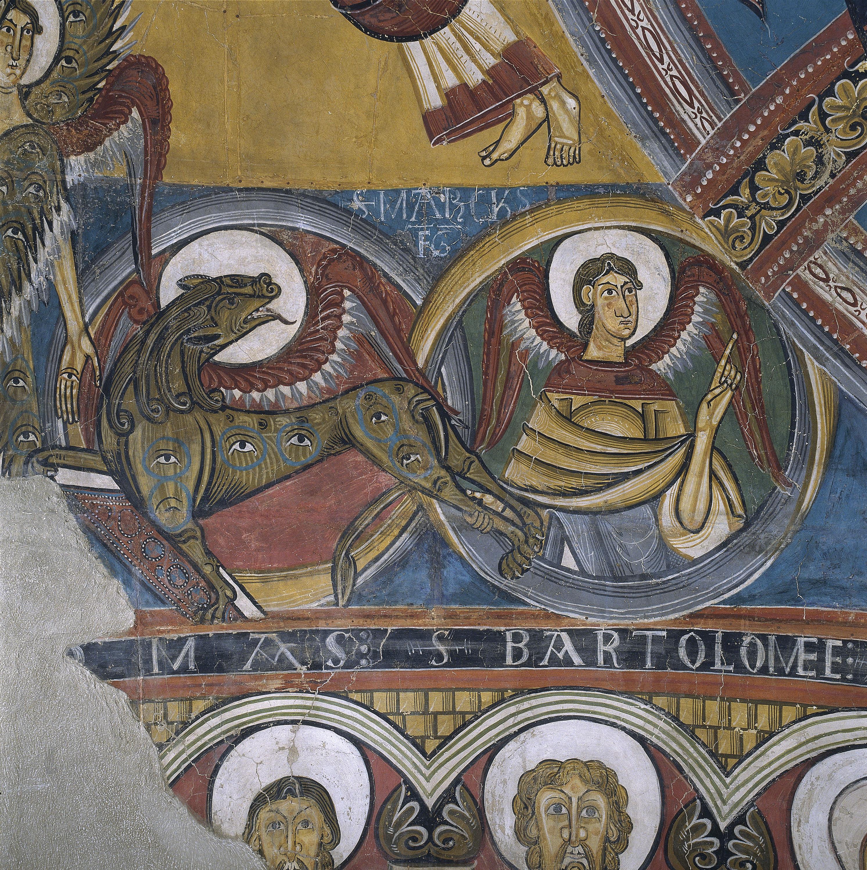 Mestre de Taüll - Absis de Sant Climent de Taüll - Cap a 1123 [9]