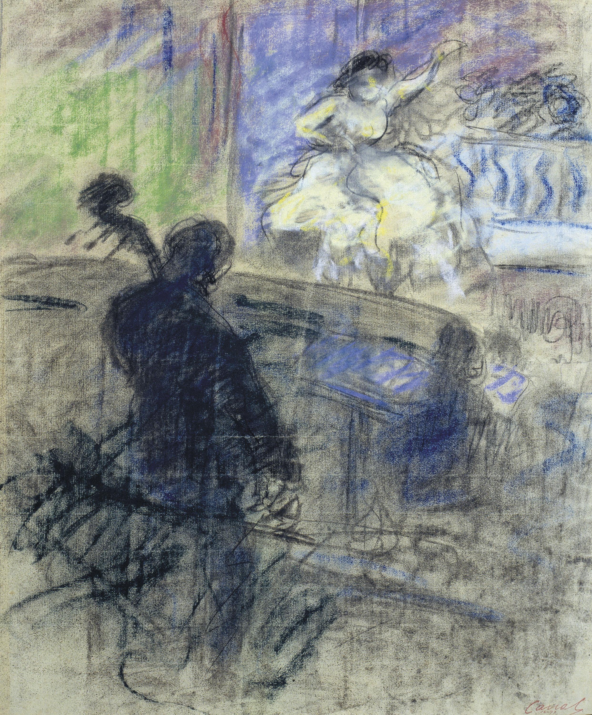 Ricard Canals - Interior de music-hall - Cap a 1897-1899