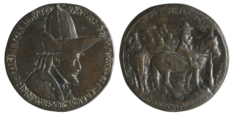 Antonio Pisano, dit «Pisanello» - John VIII Palaiologos - 1438