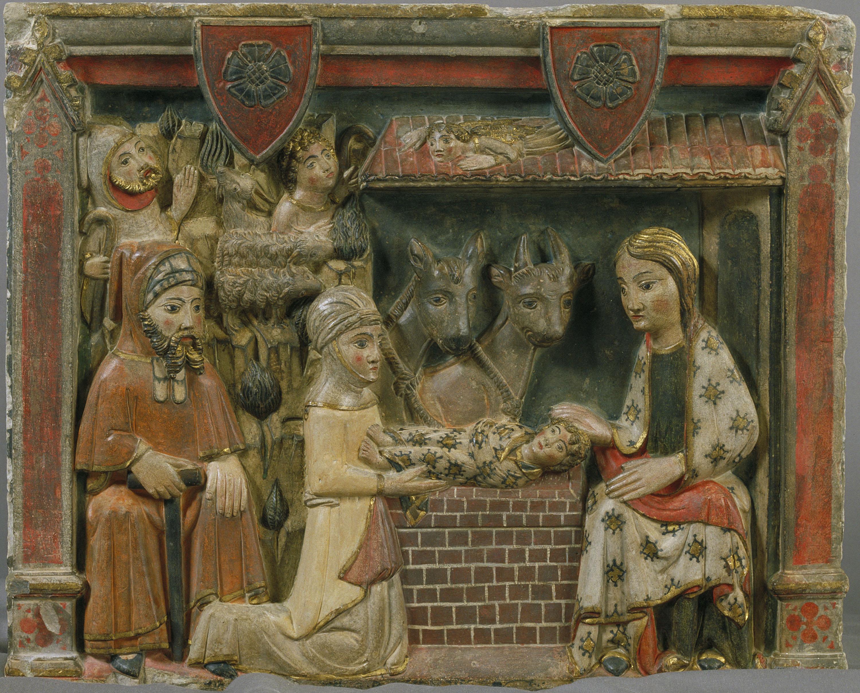 Mestre d'Albesa - Nativitat - Segona meitat del segle XIV