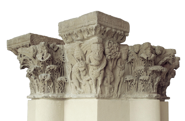 Anònim - Capitells del pilar de Camarasa - Últim quart del segle XII