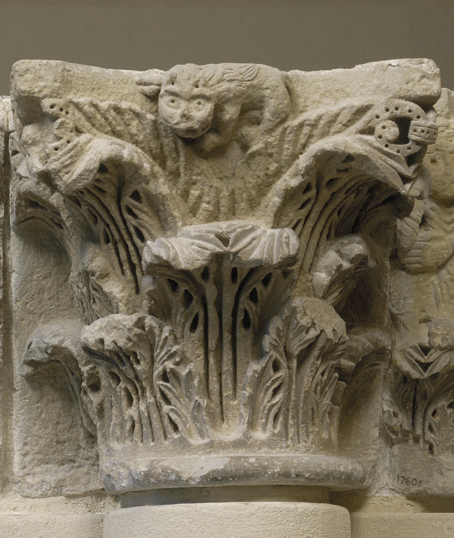 Anònim - Capitell del pilar de Camarasa - Últim quart del segle XII
