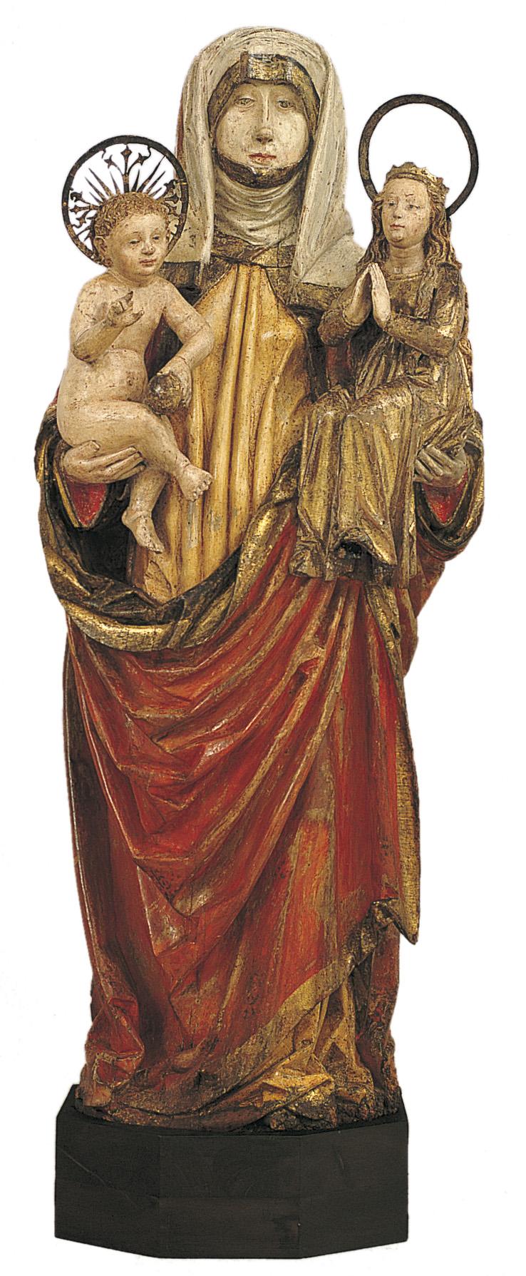 Michael Pacher - Santa Generació - Segona meitat del segle XV