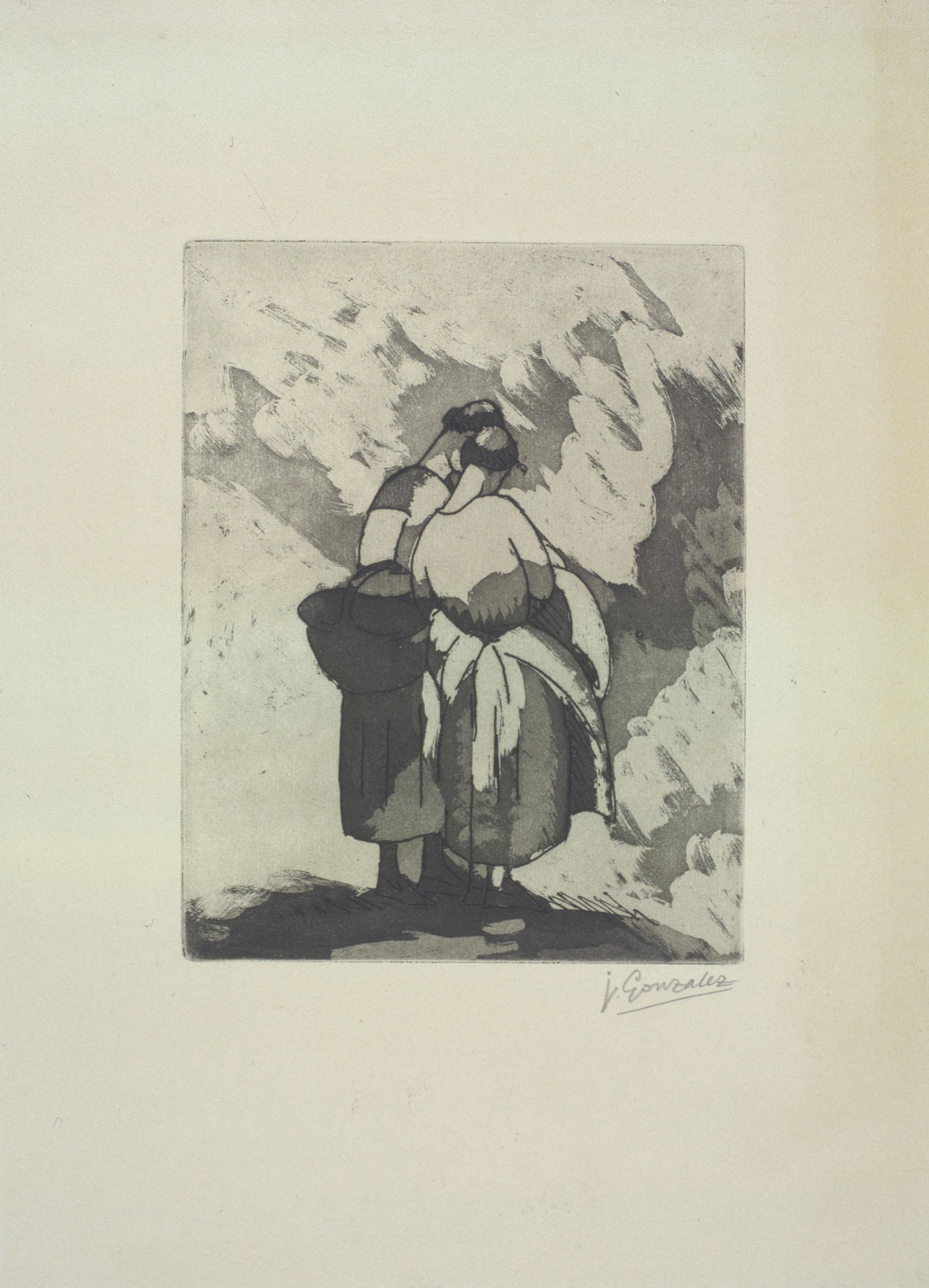 Juli González - Dues camperoles (Deux paysannes) - 1927