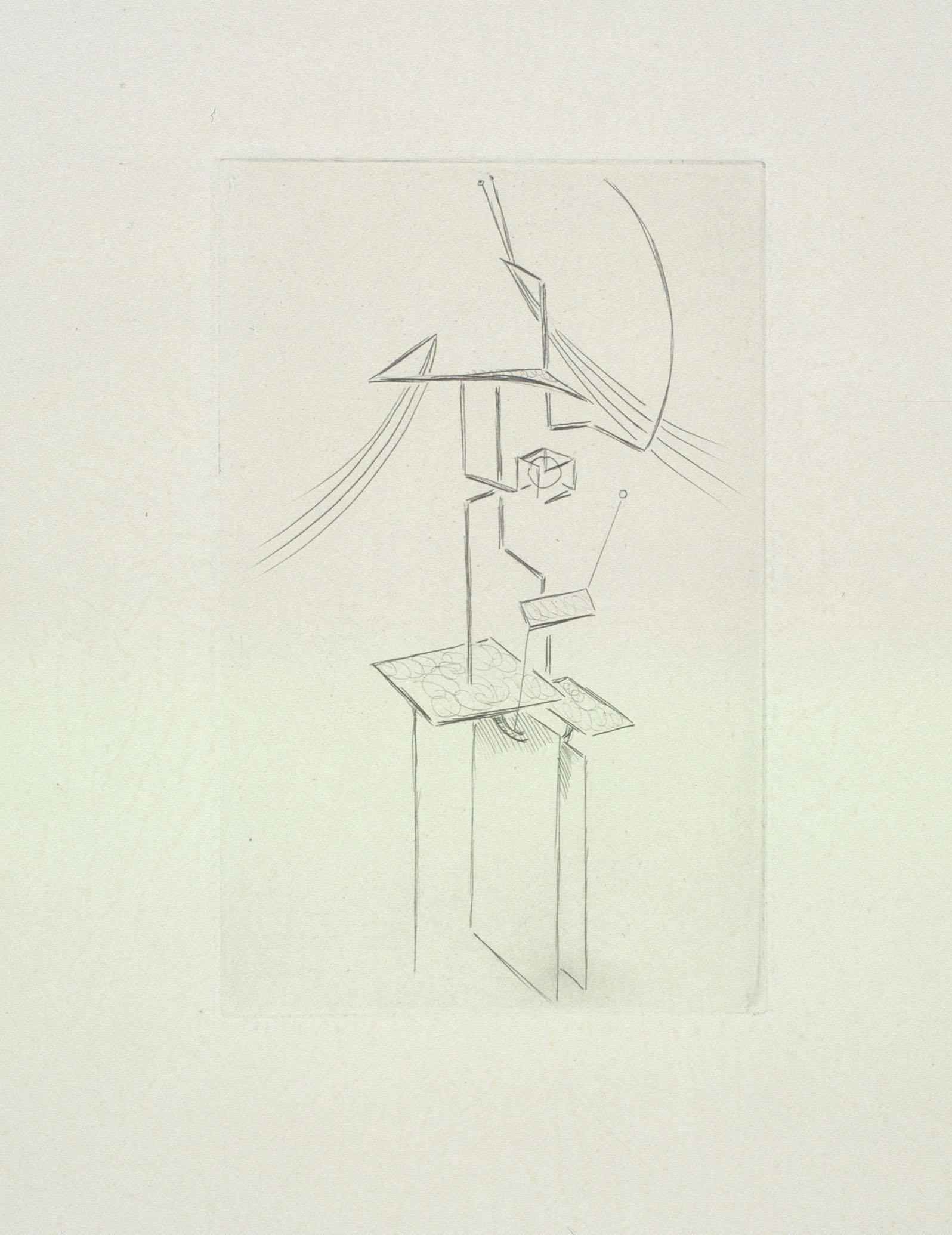 Juli González - Dona pentinant-se, núm. 1 (Femme se coiffant, no. 1) - 1935