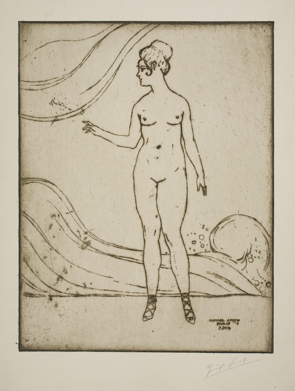 Ismael Smith - Nudity. Waves - 1914