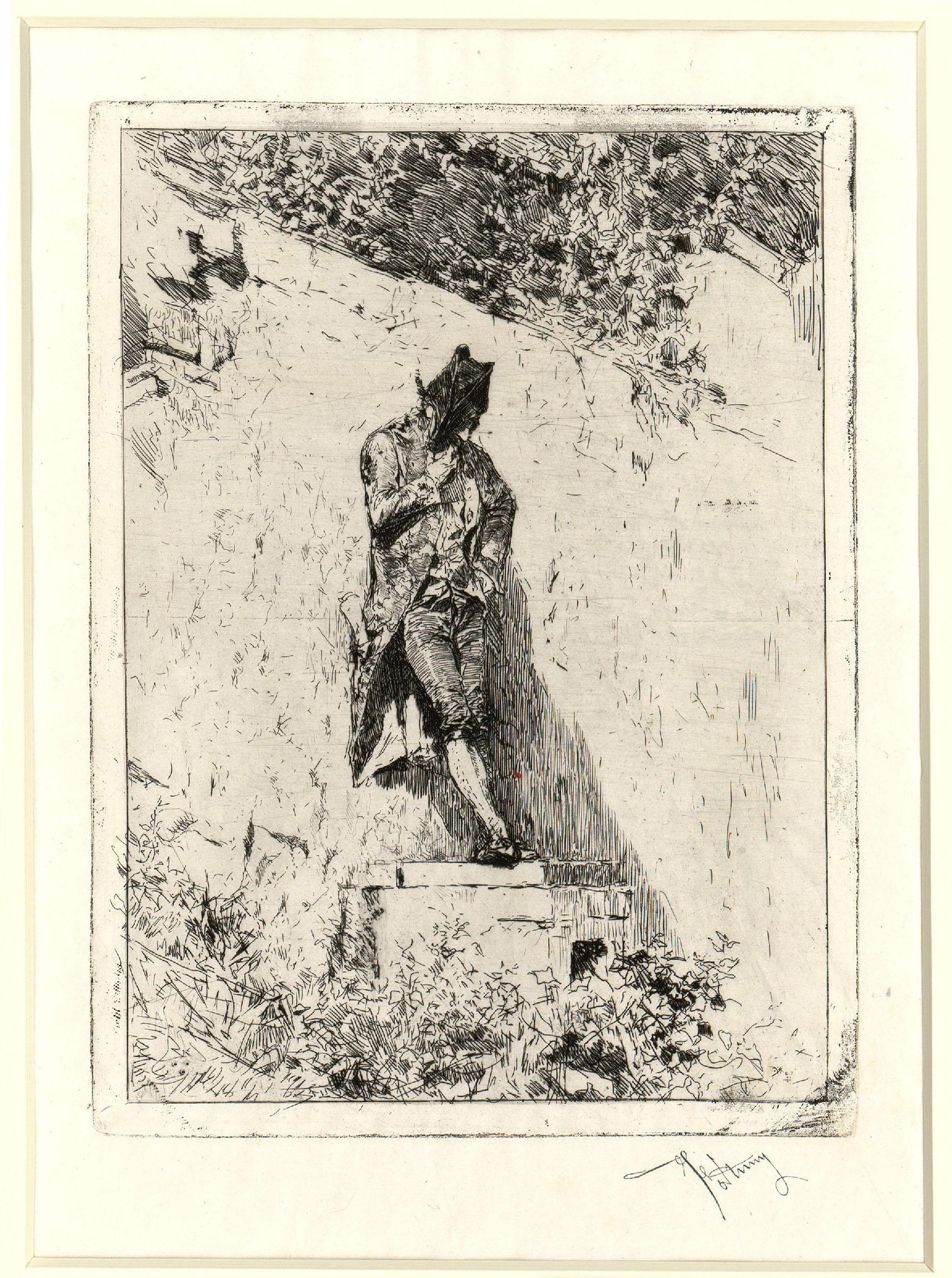 Marià Fortuny - Meditació - Cap a 1869