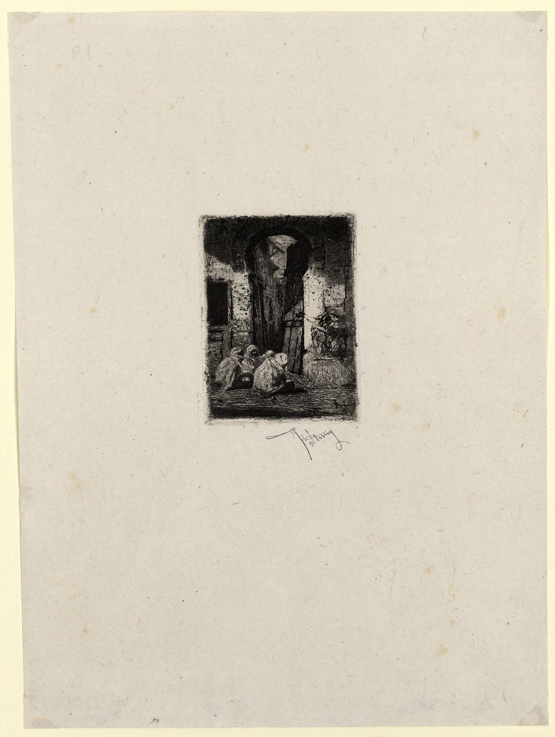 Marià Fortuny - Tànger - Cap a 1861
