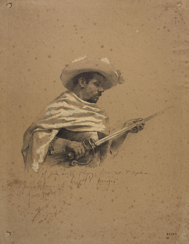 Joan Llimona - Musketeer - 1885