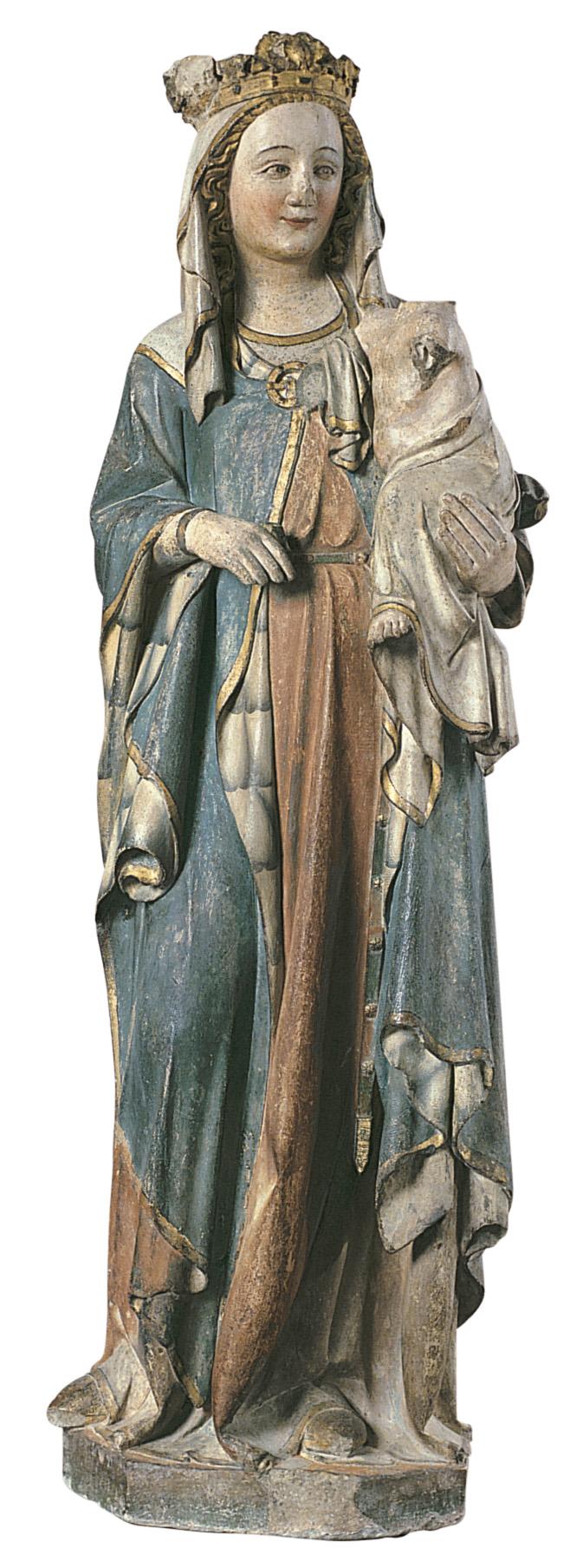Anònim - Mare de Déu - Segona meitat del segle XIV
