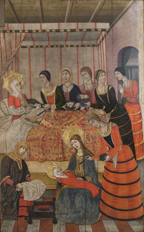 Pere Garcia de Benavarri - Naixement de sant Joan Baptista - Cap a 1473-1482