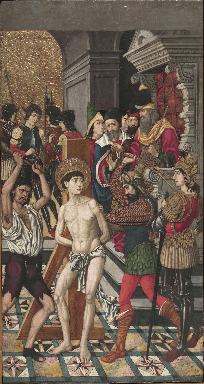 Mestre de Castelsardo - Flagel·lació de sant Vicenç - Entre 1500-1510