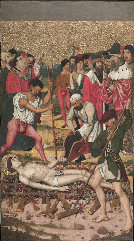 Mestre de Castelsardo - Sant Vicenç a les graelles - Entre 1500-1510