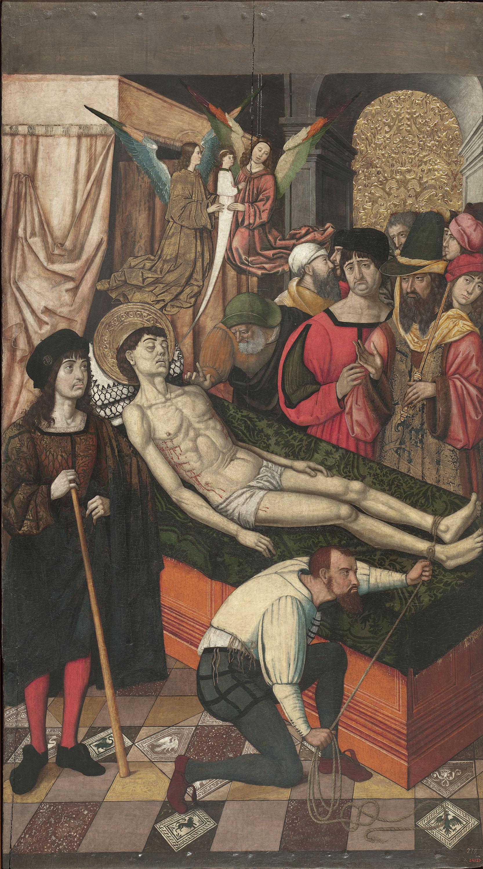 Mestre de Castelsardo - Death of Saint Vincent - Circa 1500-1510