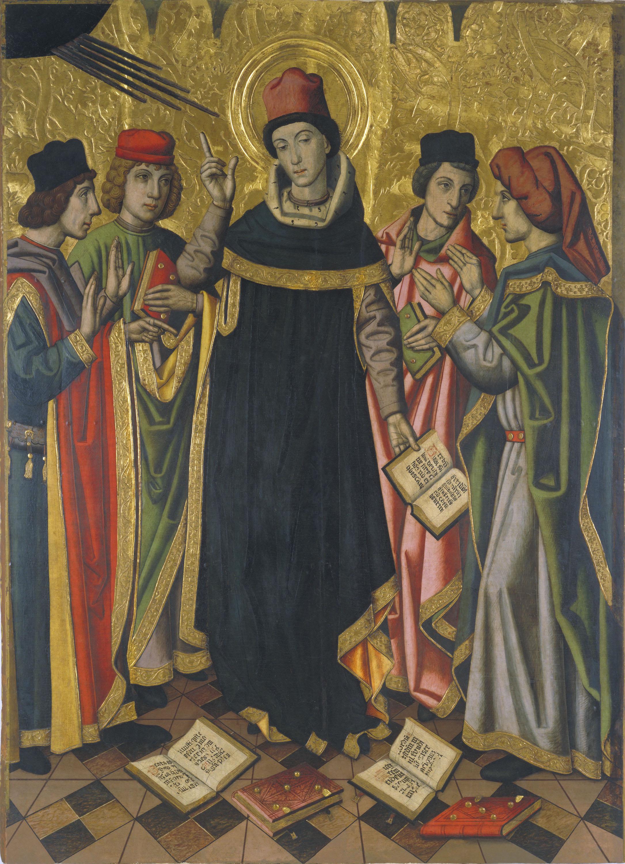 Grup Vergós - The Conversion of Saint Augustine - Circa 1470/1475-1486