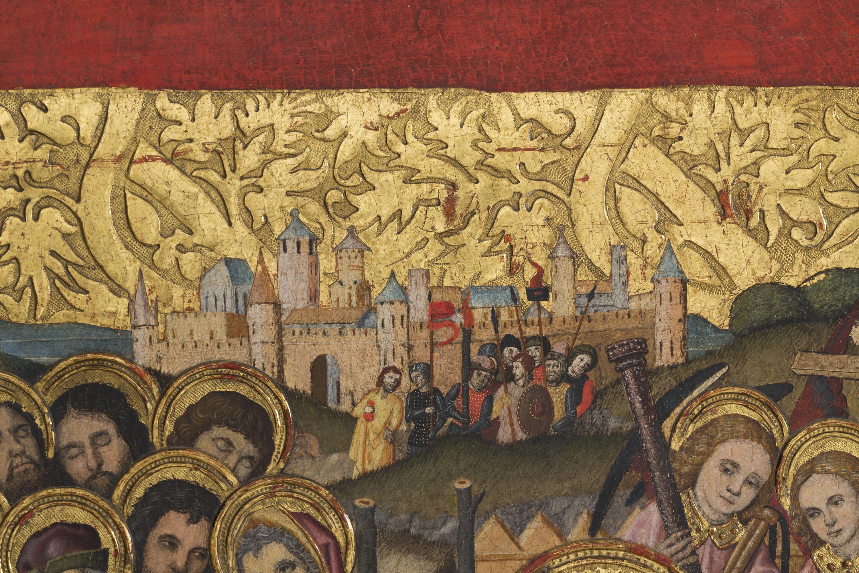 Grup Vergós - Sant Sopar. Oració a l'hort - Cap a 1495-1500 [2]