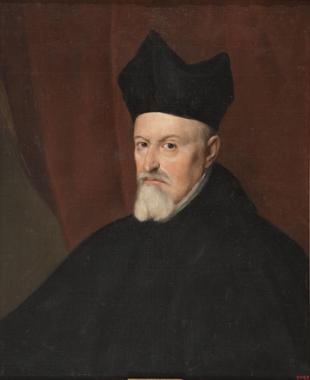Anònim. Castella - Portrait of Fernando de Valdés y Llanos, Archbishop of Granada and President of the Council of Castile - 1634-1639