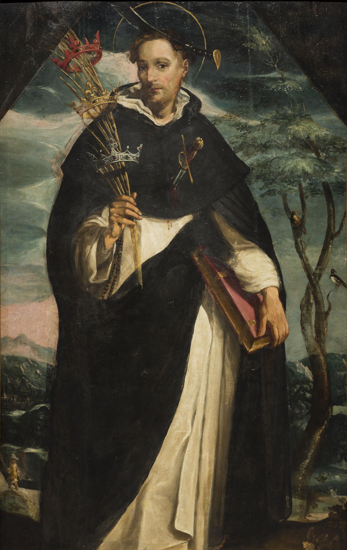 Lluís Gaudin - Saint Peter Martyr - Circa 1616