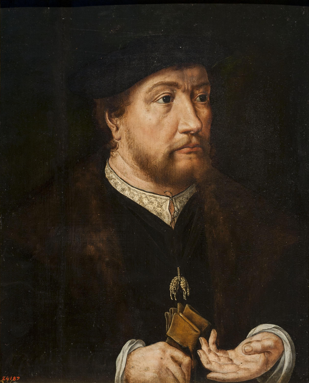 Jan Gossaert (Mabuse) - Retrat d'Enric III, comte de Nassau - Entre 1530-1532
