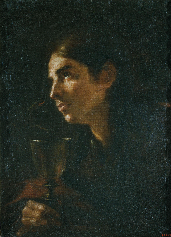 Mateo Cerezo - Sant Joan Evangelista - Cap a 1665