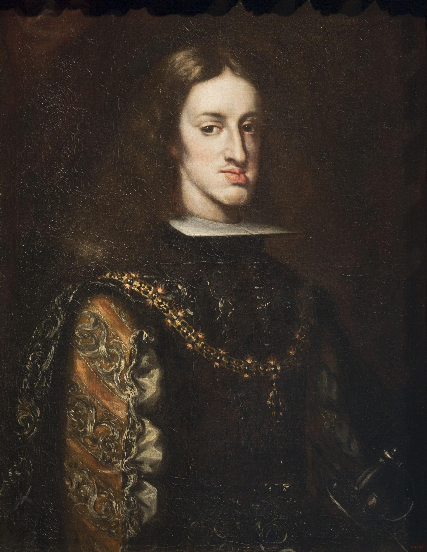 Claudio Coello - Retrat de Carles II - Entre 1680-1683