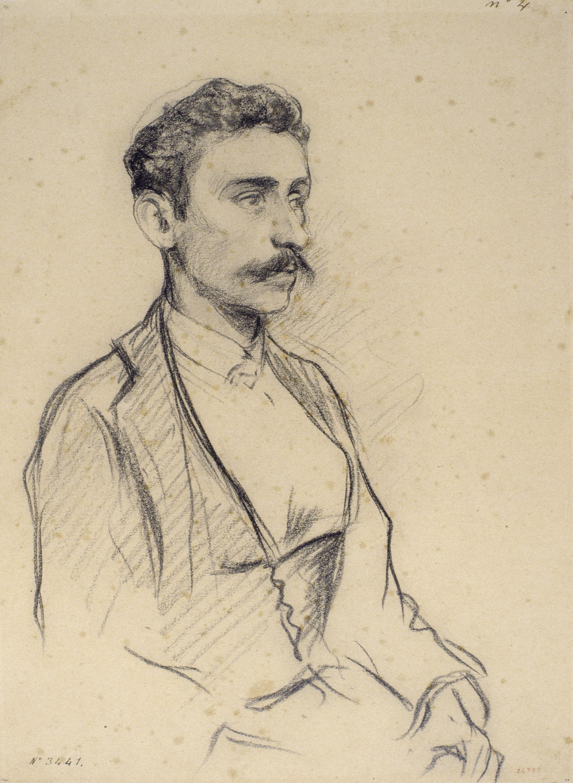 Santiago Rusiñol - Retrat de Salvador Robert - Cap a 1895-1897