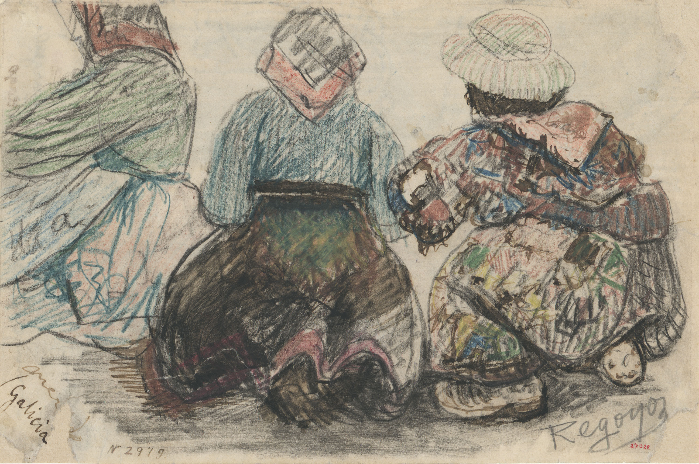 Darío de Regoyos - Dones gallegues - 1892