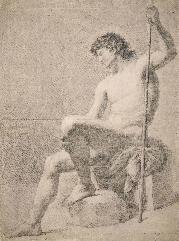 Francesc Agustín - Nu masculí - 1780