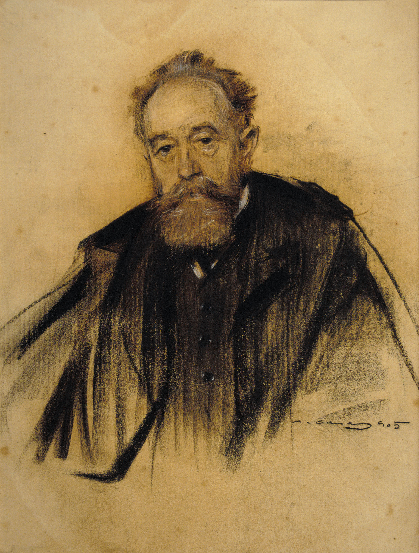 Ramon Casas - Retrat d'Aureliano de Beruete - 1905
