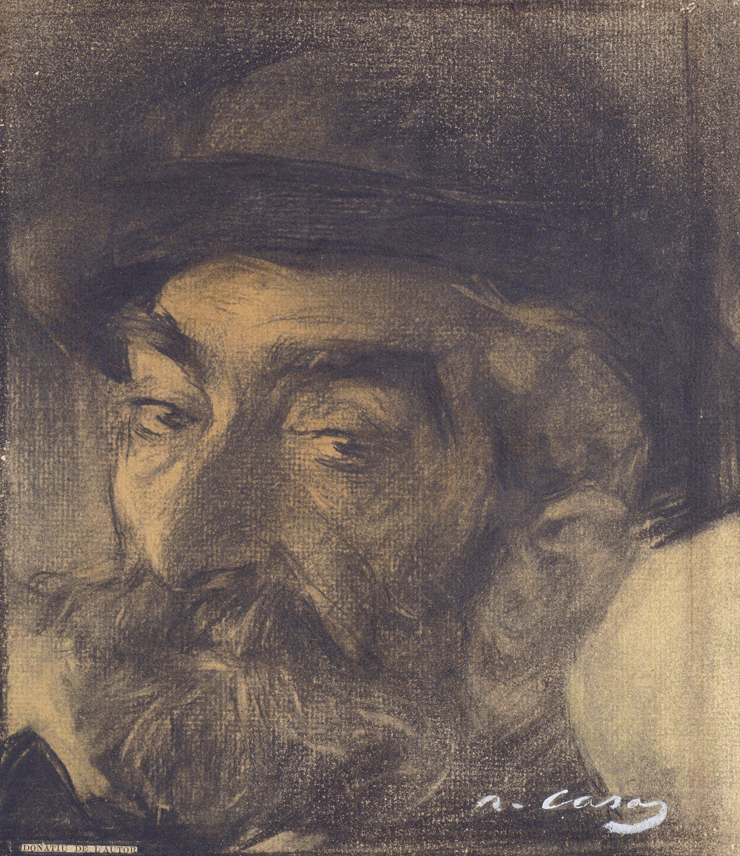 Ramon Casas - Portrait of Josep Lluís Pellicer - Circa 1900