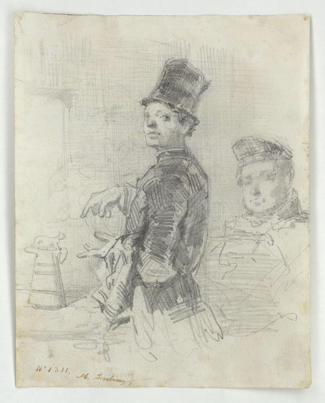 Marià Fortuny - La bière - Cap a 1855-1857