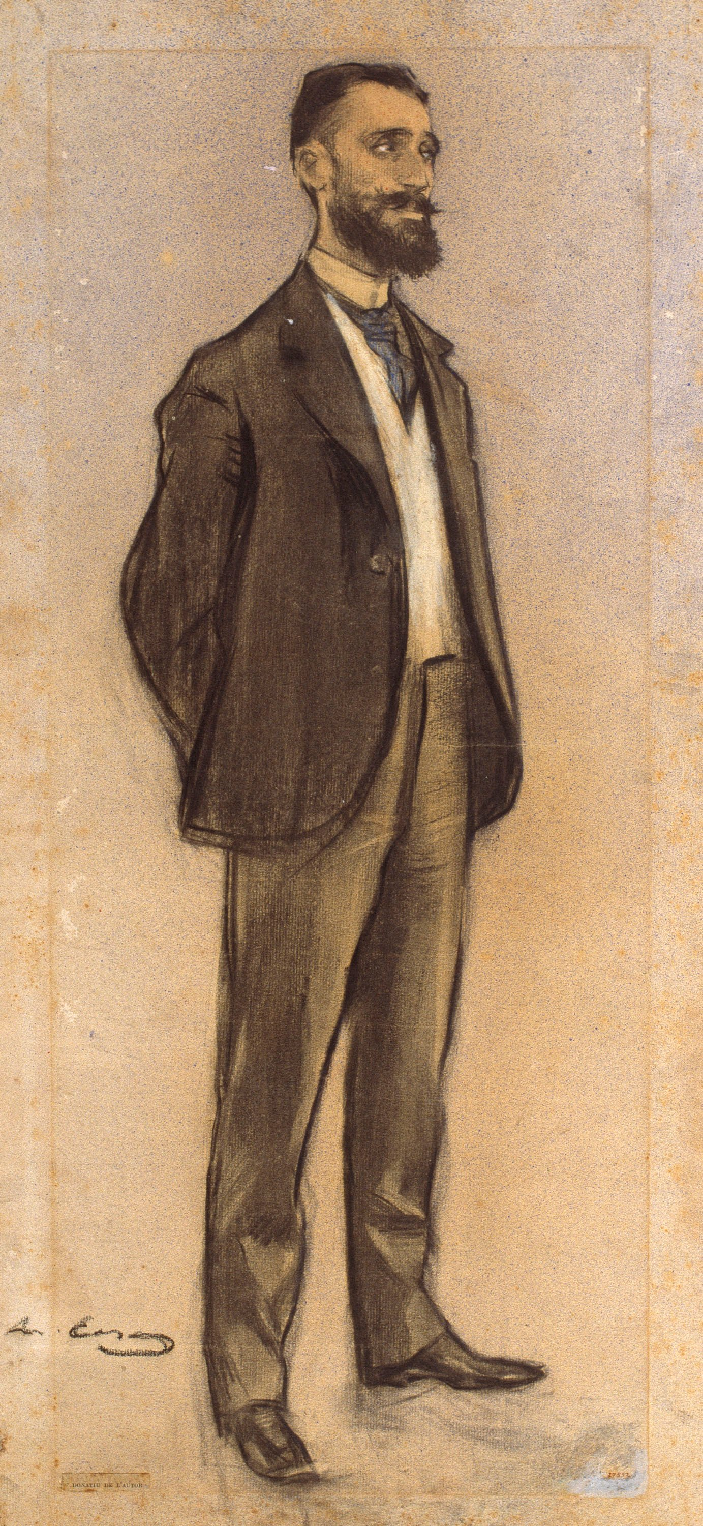 Ramon Casas - Portrait of Jaume Massó i Torrents - Circa 1897-1898