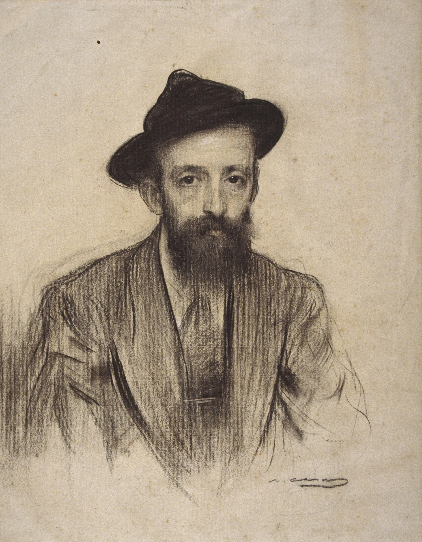 Ramon Casas - Retrato de Rafael Mainar - Hacia 1904-1905