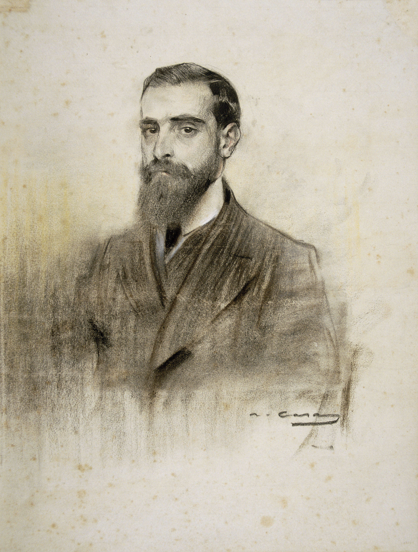 Ramon Casas - Retrat de Francesc Cambó - Cap a 1906