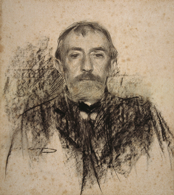 Ramon Casas - Retrato de Henry Lerolle - Hacia 1902