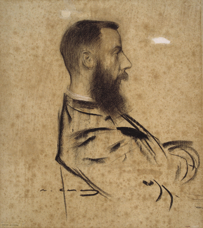 Ramon Casas - Portrait of Raymond Foulché-Delbosc - Circa 1901