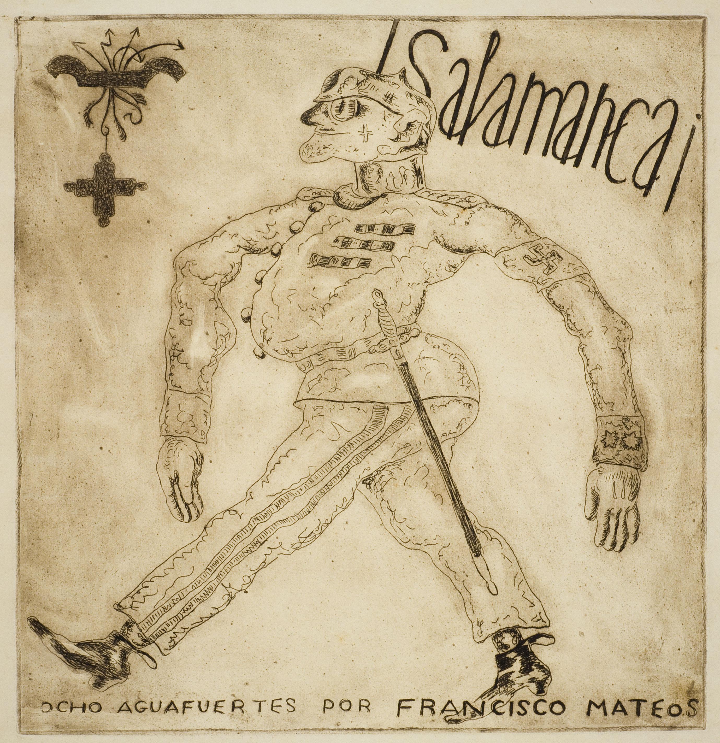 Francisco Mateos - ¡Salamanca! (portada) - 1937