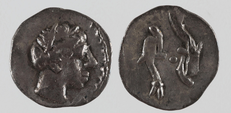 Emporion - Trihemitetartemorion d'Emporion - Finals del segle III aC