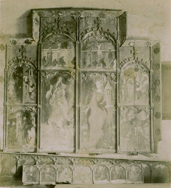 Gonçal Peris Sarrià - Retaule de santa Bàrbara - Cap a 1410-1425 [1]