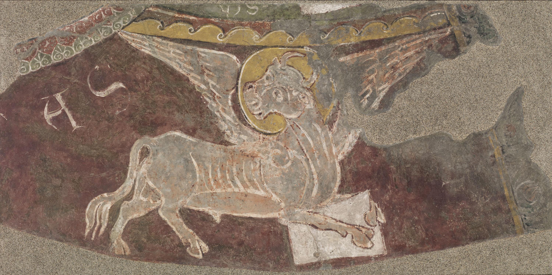 Mestre de Sant Esteve d'Andorra - Brau alat de Lluc de Sant Esteve d'Andorra - Cap a 1200-1210