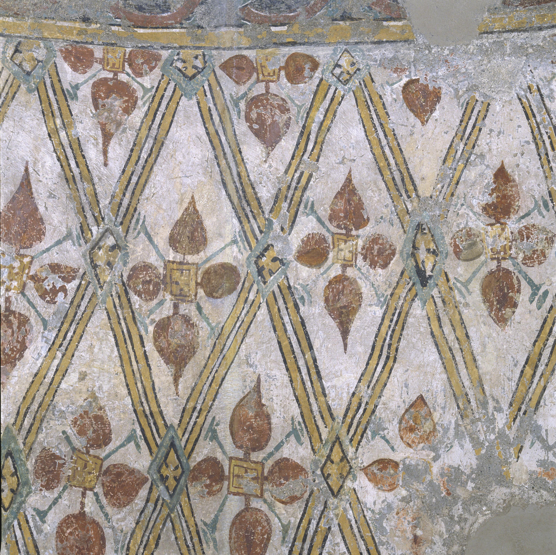 Mestre de Sant Esteve d'Andorra - Fornícula i fragment del mur nord de Sant Esteve d'Andorra - Cap a 1200-1210 [1]