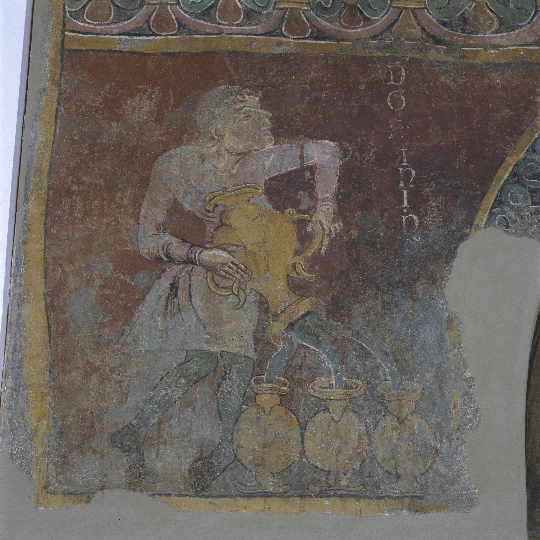 Mestre de Sant Esteve d'Andorra - Fornícula i fragment del mur nord de Sant Esteve d'Andorra - Cap a 1200-1210 [3]