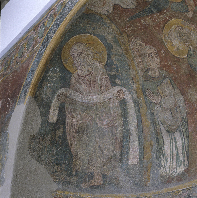 Mestre de Sant Esteve d'Andorra - Fornícula i fragment del mur nord de Sant Esteve d'Andorra - Cap a 1200-1210 [4]