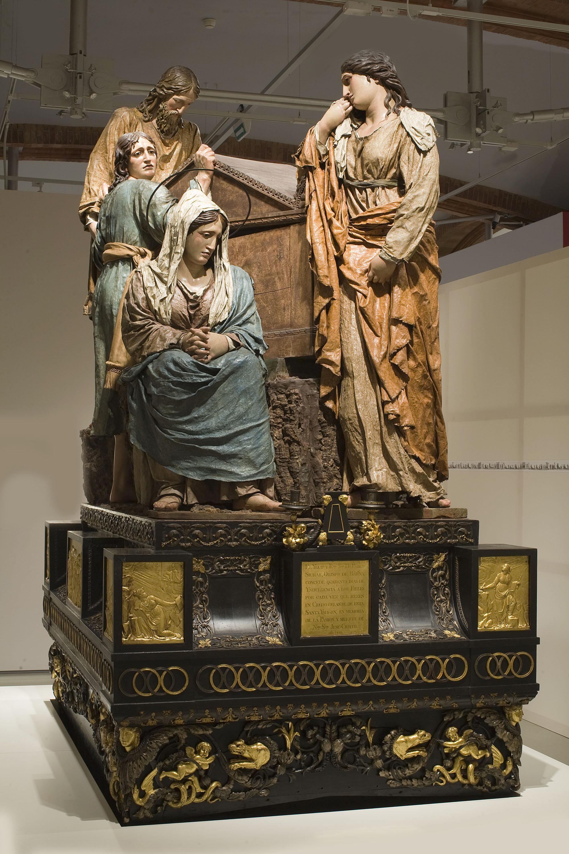 Damià Campeny - Enterrament de Crist. Pas processional de Setmana Santa - 1816-1817